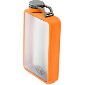 GSI Boulder Flask Bottle orange/transparent